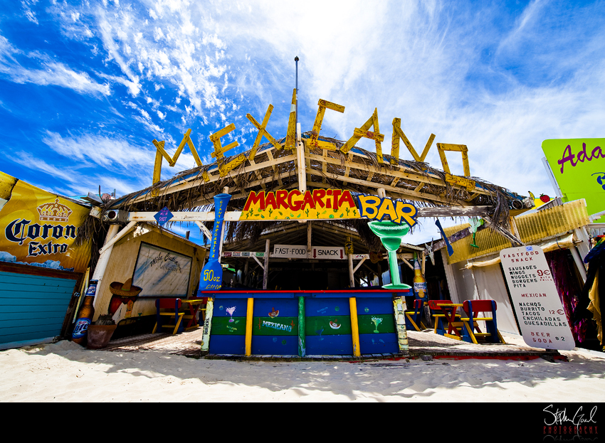 Orient Beach Bars St Maarten