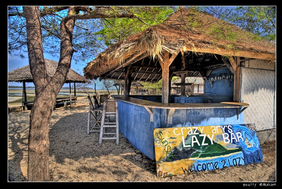 Hd Tropical Island Beach Paradise Wallpapers And Backgrounds: Beach Bars In HDR
