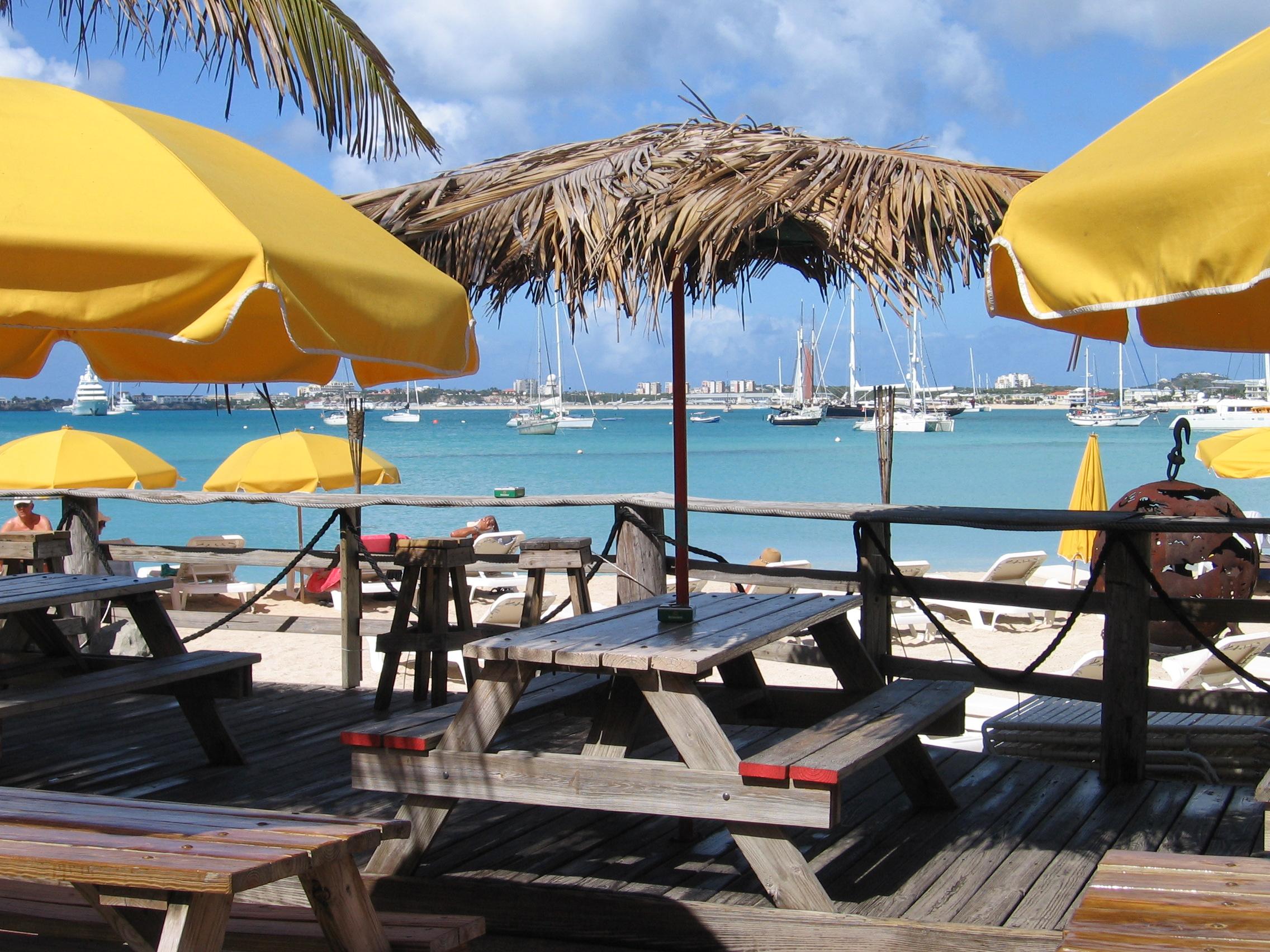Buccaneer Beach Bar St Martin
