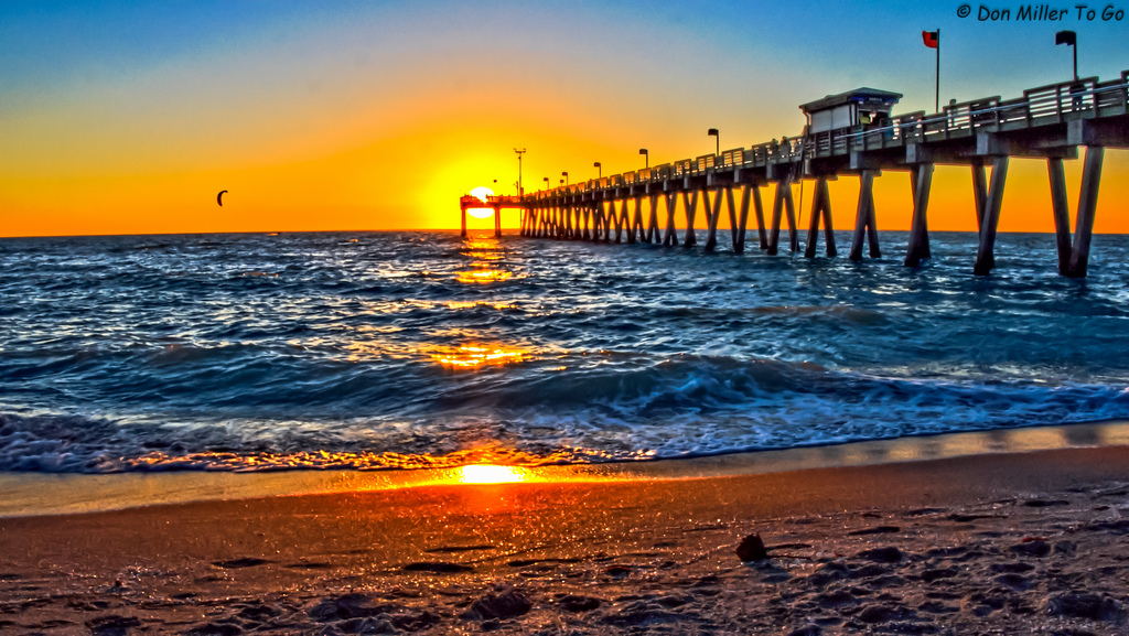 Photo Of The Day Sunset From Sharky S On The Pier