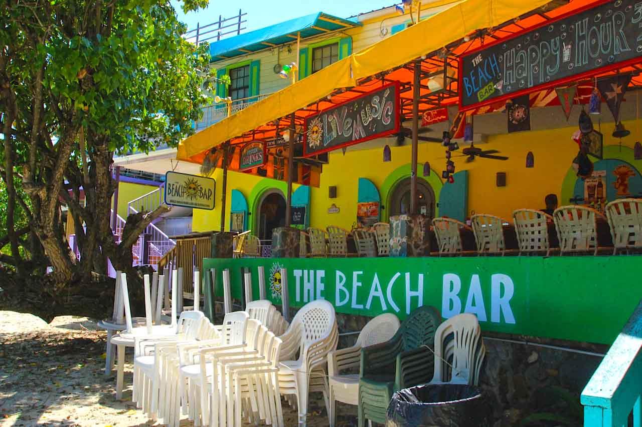 The Beach Bar, St. John, US Virgin Islands – The Beach Bar ...