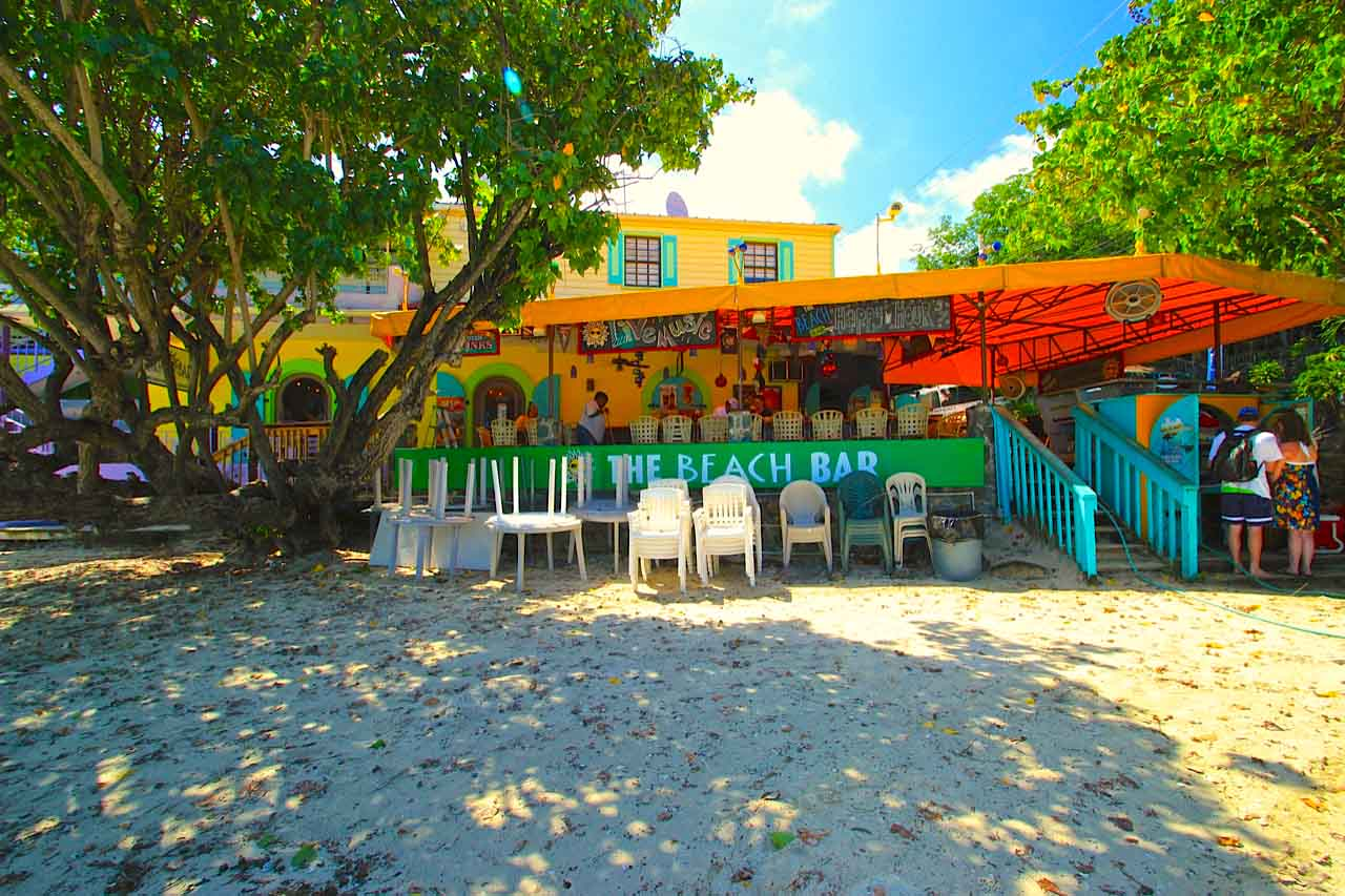 Beach Bar St John Irma