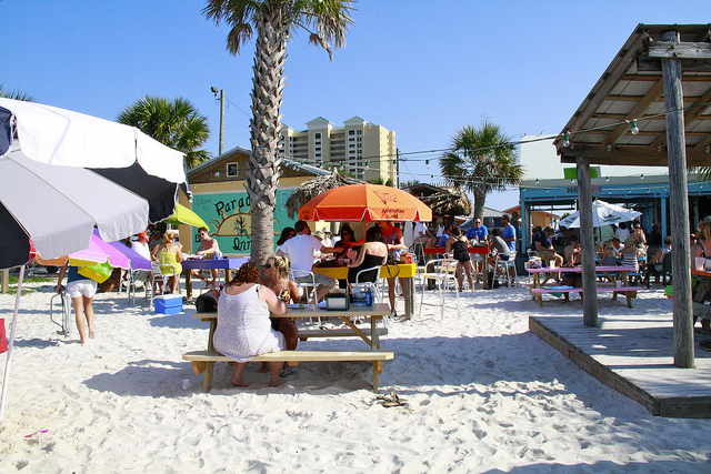 Hd Tropical Island Beach Paradise Wallpapers And Backgrounds: Scenes From Paradise Bar, Pensacola Beach, Florida