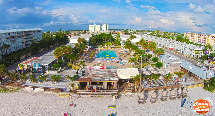 Droning Around The Postcard Inn St Pete Beach Florida Beach Bar Bums